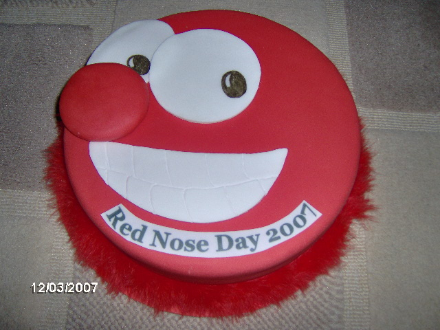 Cake Designs For Red Nose Day : Specialist cake decorating shops in london